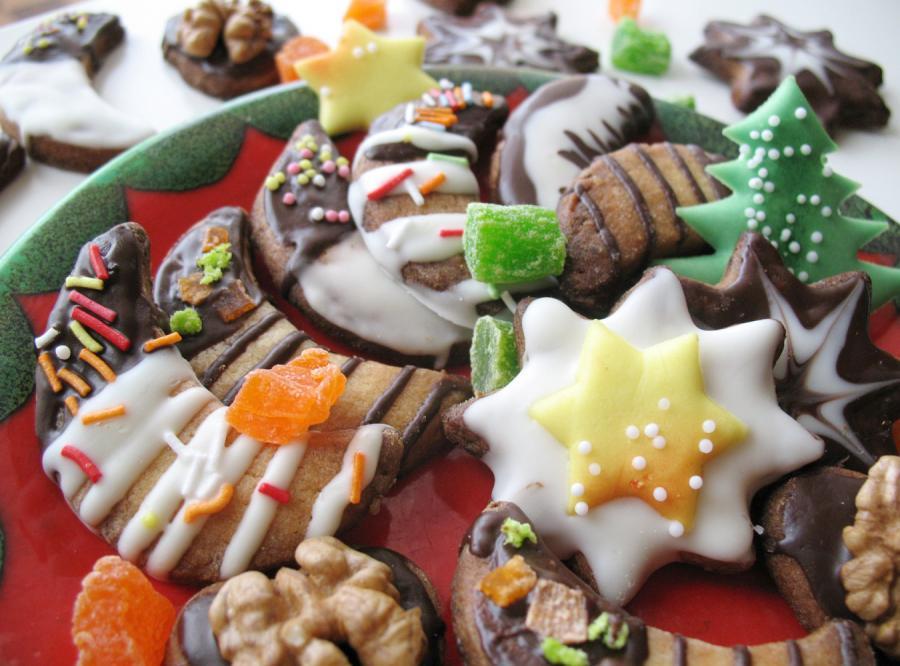 Bożonarodzeniowe ciasteczka