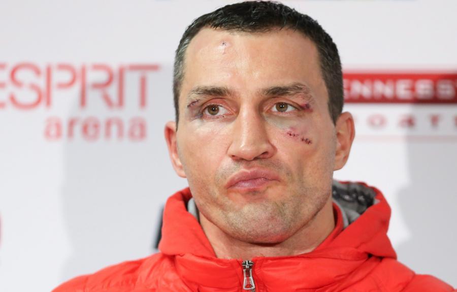 Przegrany Władimir Kliczko