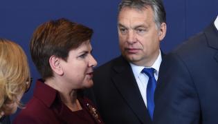 Beata Szydło, Viktor Orban