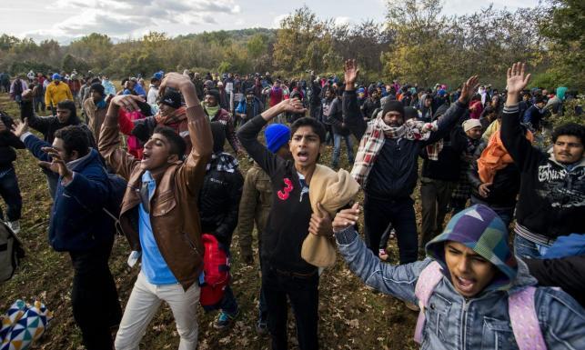 Wrze na granicy grecko - macedońskiej. Kolejne zamieszki z udziałem imigrantów. ZDJĘCIA