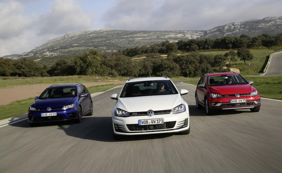 Volkswagen golf - 4. miejsce