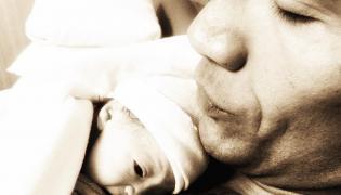 Dwayne Johnson z córeczką Jasmine