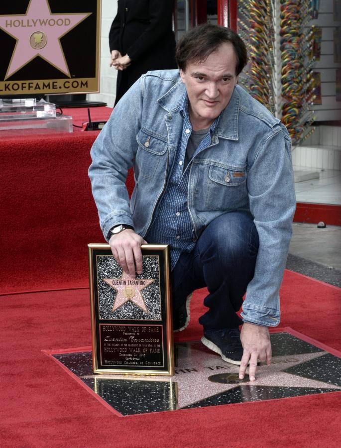 Quentin Tarantino ma swoją gwiazdę w Alei Sław w Hollywood