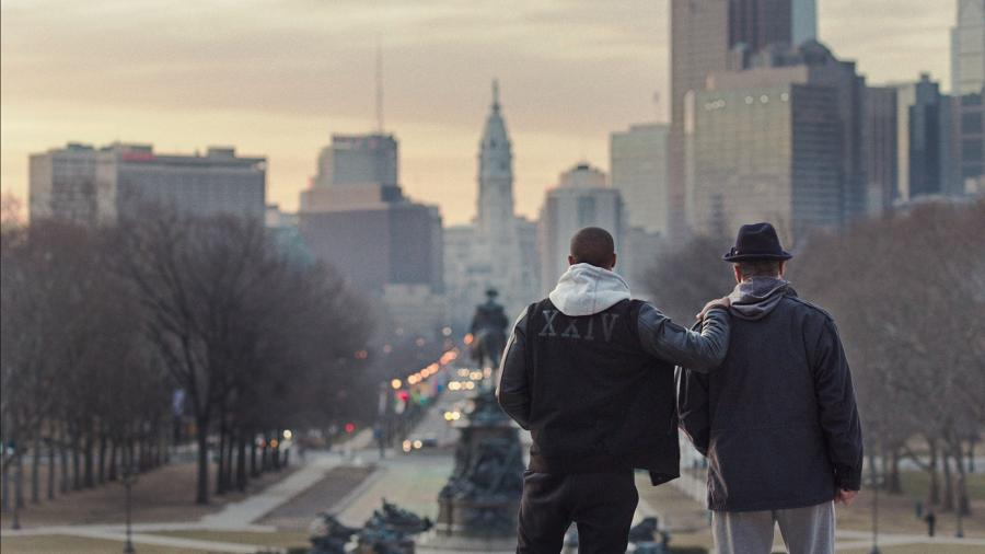 Michael B. Jordan i Sylvester Stallone w roli życia