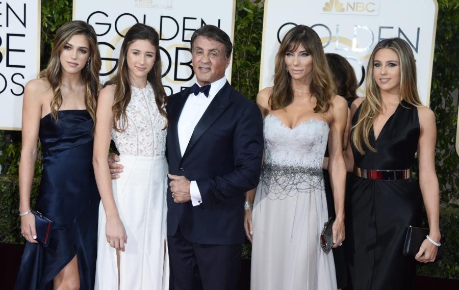 Sylvester Stallone – dumny mąż i ojciec trzech córek