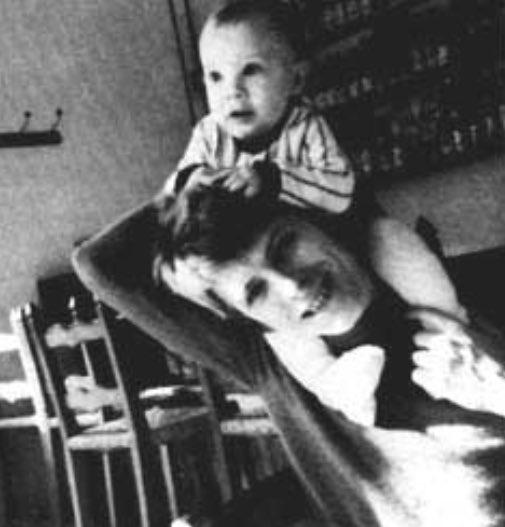 David Bowie z synem
