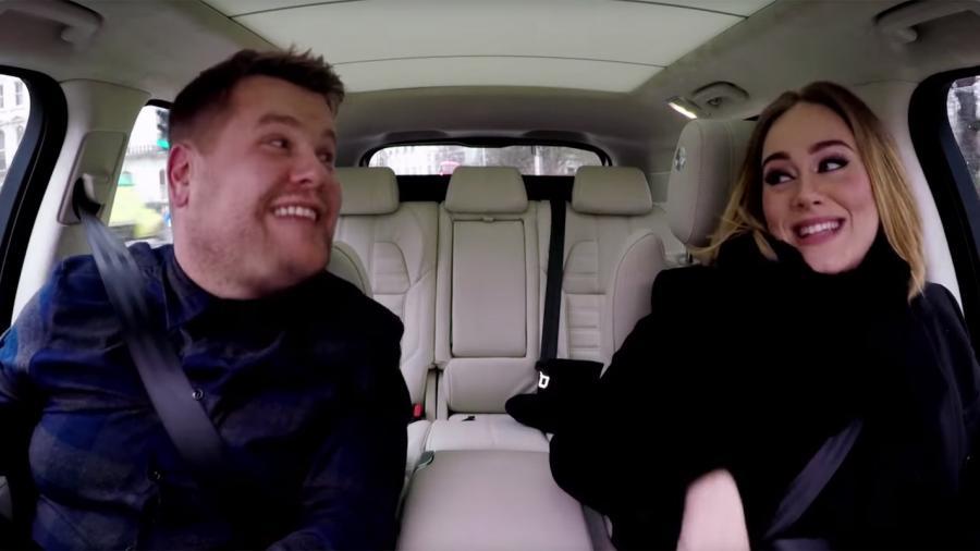 Adele z Jamesem Cordenem, czyli niezła jazda