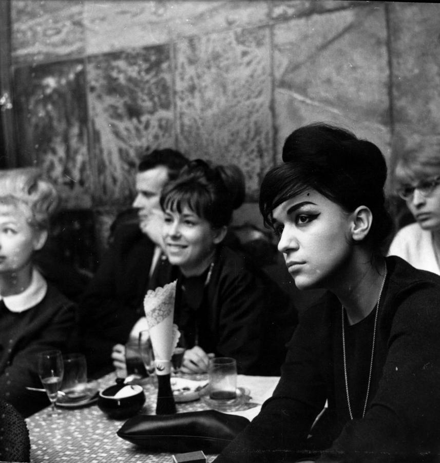 Ewa Demarczyk w roku 1964