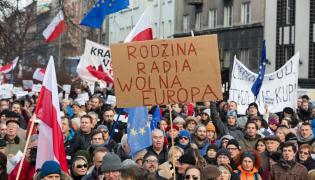 Manifestacja Komitetu Obrony Demokracji