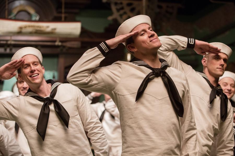 "Channing Tatum w filmie ""Ave, Cezar!"""