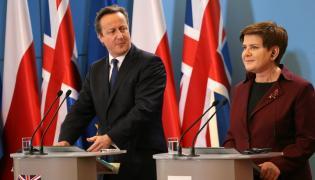 David Cameron i Beata Szydło