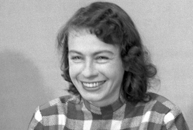Danuta Szaflarska w roku 1954
