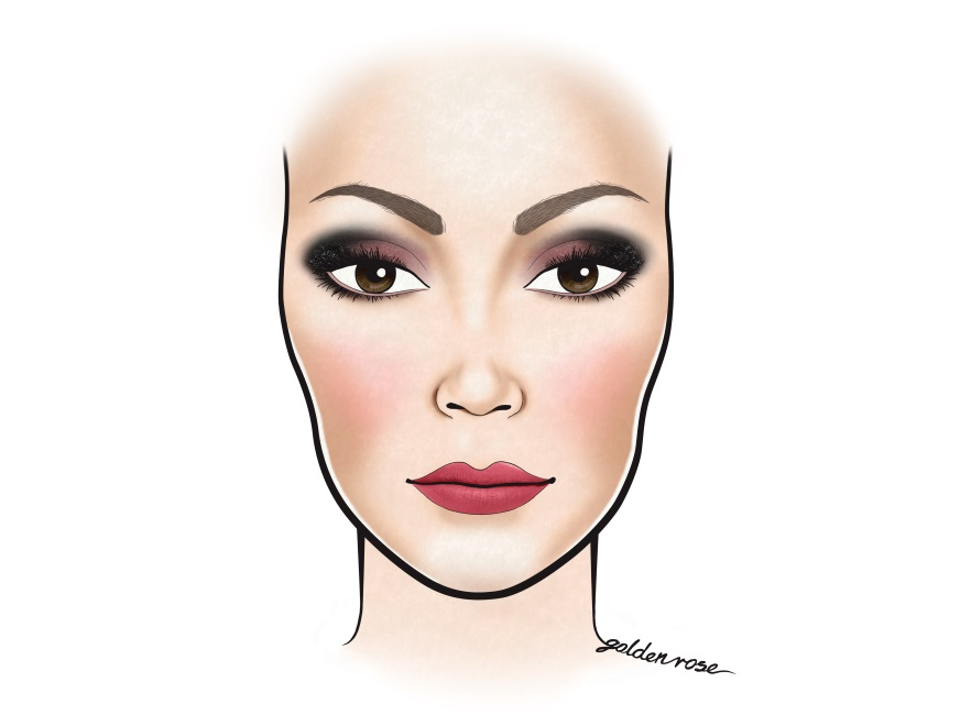 Makijaż na walentynki od marki Golden Rose