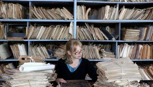 Dokumenty w biurze