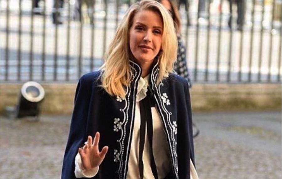 Ellie Goulding w drodze do Opactwa Westminsterskiego