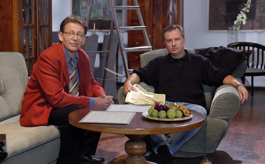 Jacek Borkowski i Tomasz Stockinger w \