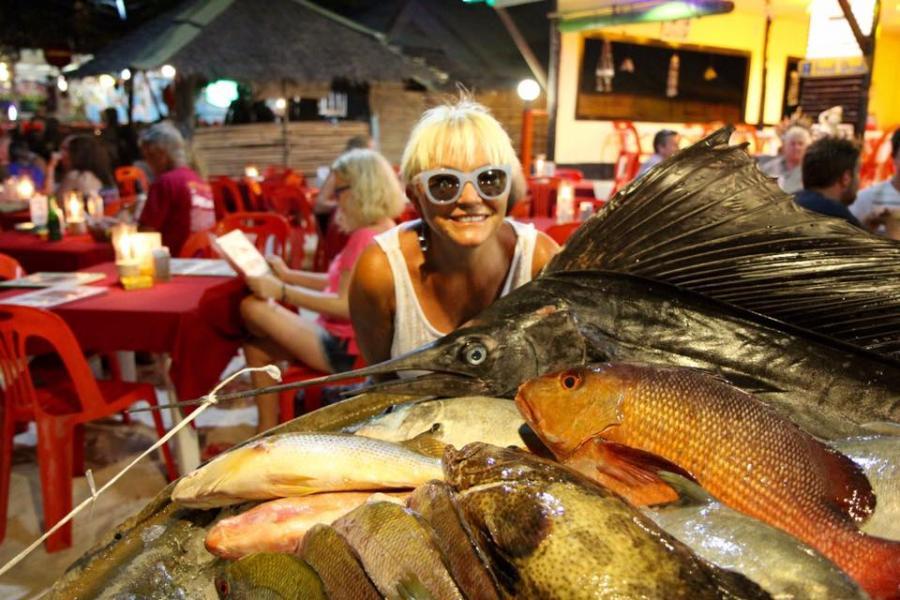 Małgorzata Ostrowska na wakacjach w Tajlandii