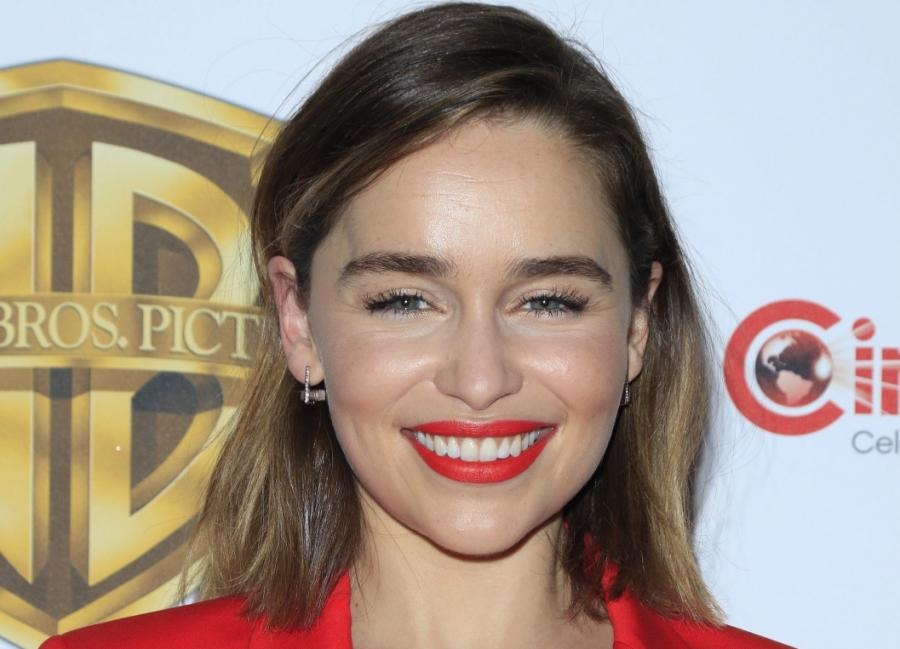 Emilia Clarke na CinemaCon 2016