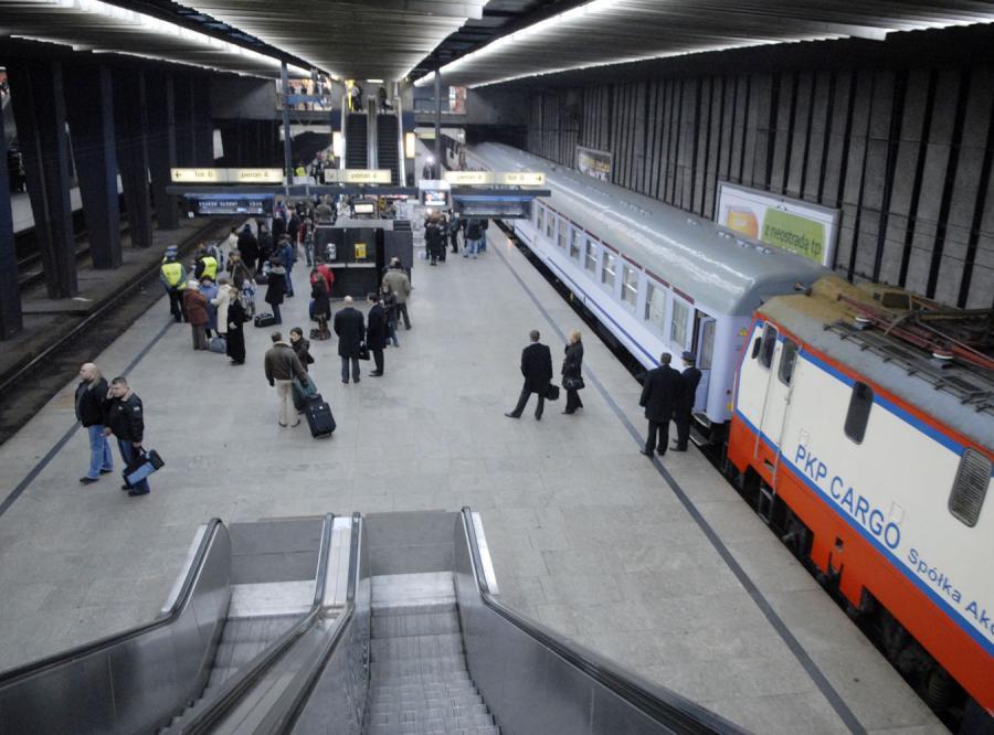 Kolejarze zablokują Dworzec Centralny