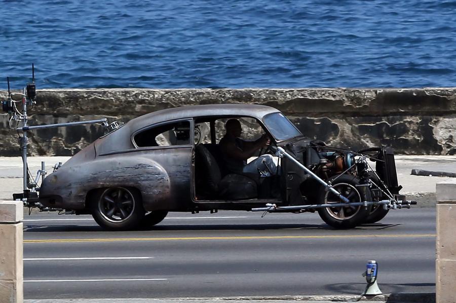 """Na Kubie powstają zdjęcia do filmu """"Szybcy i wściekli 8"""""""