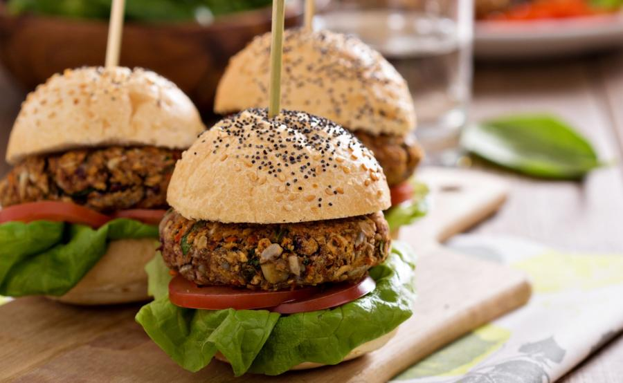 Wegetariański burger