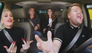 George Clooney, Julia Roberts, Gwen Stefani i James Corden - gwiazdorska czwórka we wspólnym karaoke