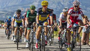 Peleton Tour de France