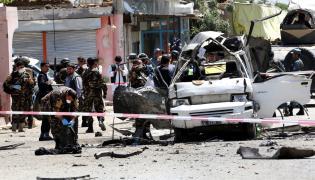 Skutki zamachu w Kabulu