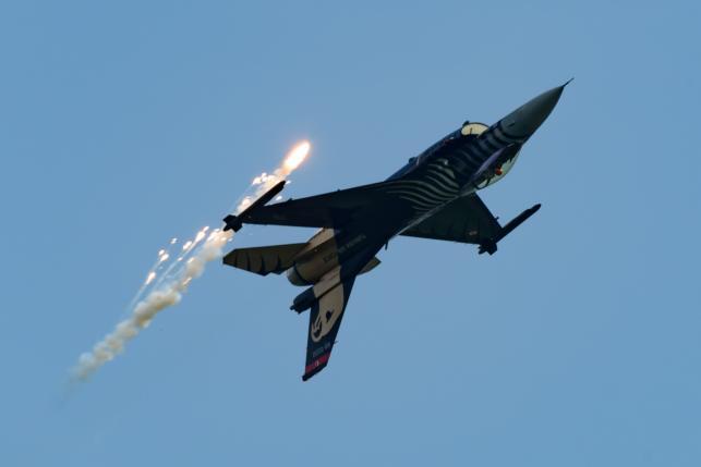 F-16 SoloTurk z Sił Powietrznych Turcji