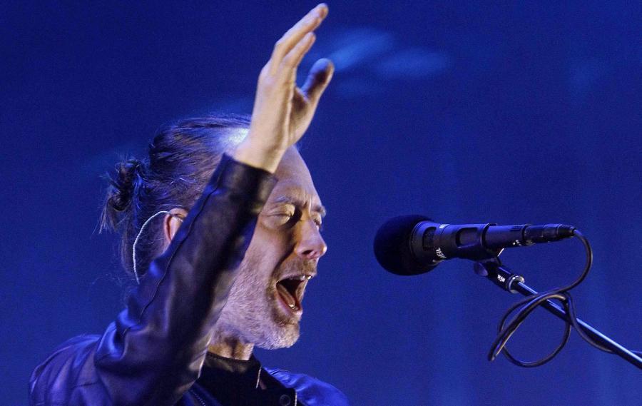 Radiohead prezentuje raz wtygodniu filmowe impresje na temat utworów znowej płyty