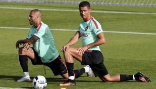 Cristiano Ronaldo i Ricardo Quaresma