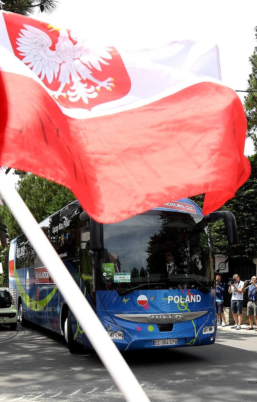 Tak Francja powitała piłkarską reprezentację Polski
