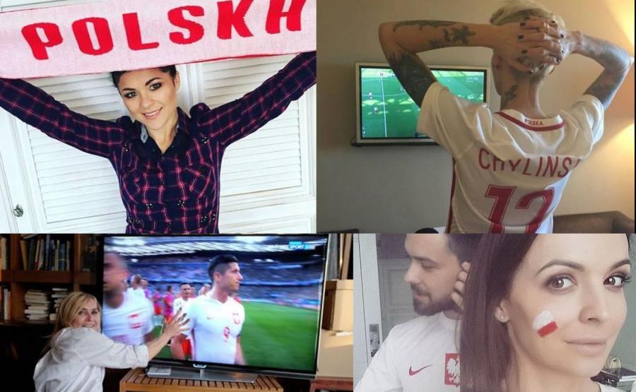 gwiazdy kibicują polskiej reprezentacji na Euro 2016