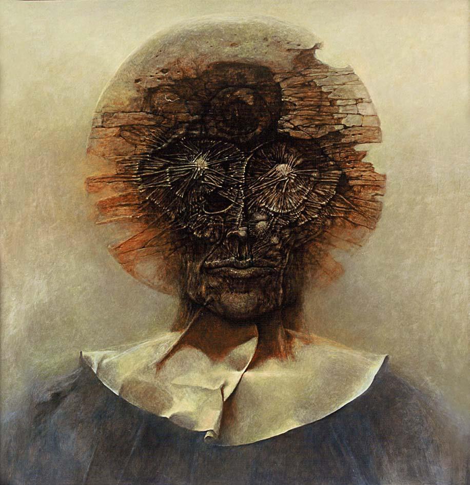 XXX, 1978, olej, 87 x 73 cm