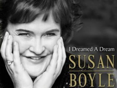 Okładka debiutanckiej płyty Susan Boyle \