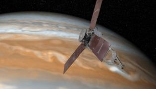 Amerykańska sonda Juno rozpoczęła wchodzenie na orbitę Jowisza