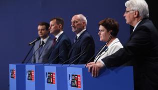 Konferencja premier Beaty Szydło oraz ministrów po szczycie NATO