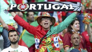 Kibic reprezentacji Portugalii