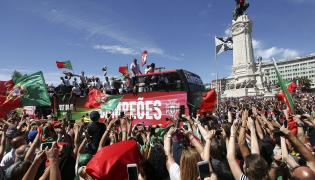 Mistrzowie Europy są już w Portugalii