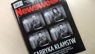 """Okładka tygodnika """"Newsweek"""""""