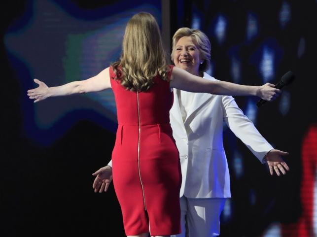 Chelsea i Hilary Clinton