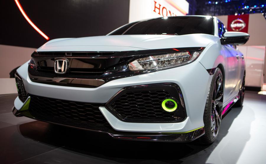 Honda civic 5d - prototyp pokazany w Genewie