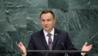 Prezydent Andrzej Duda przemawia w ONZ