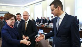 Beata Szydło, Mateusz Morawiecki i Paweł Szałamacha