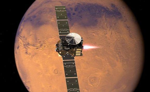 Lądownik ma poszukać śladów życia na Marsie