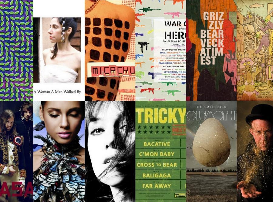 12 najlepszych płyt 2009 roku