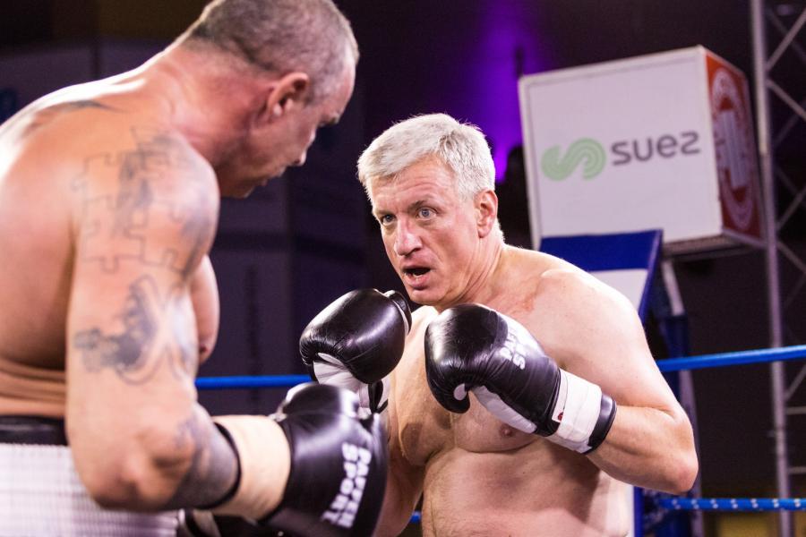 Przemysław Saleta zlał w ringu prezydenta Poznania. Panowie bili się w słusznej sprawie