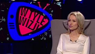 """Magdalena Ogórek w programie """"W tyle wizji"""""""