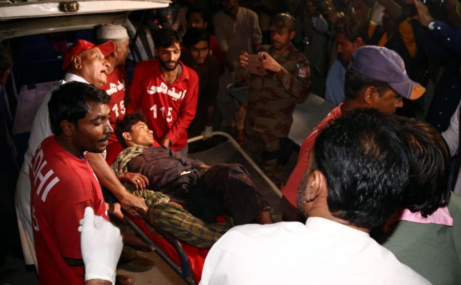 Zamach Na Meczet Facebook: Krwawy Zamach Na Sanktuarium W Pakistanie. Dziesiątki