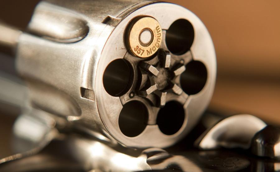 Rewolwer z amunicją .357 Magnum